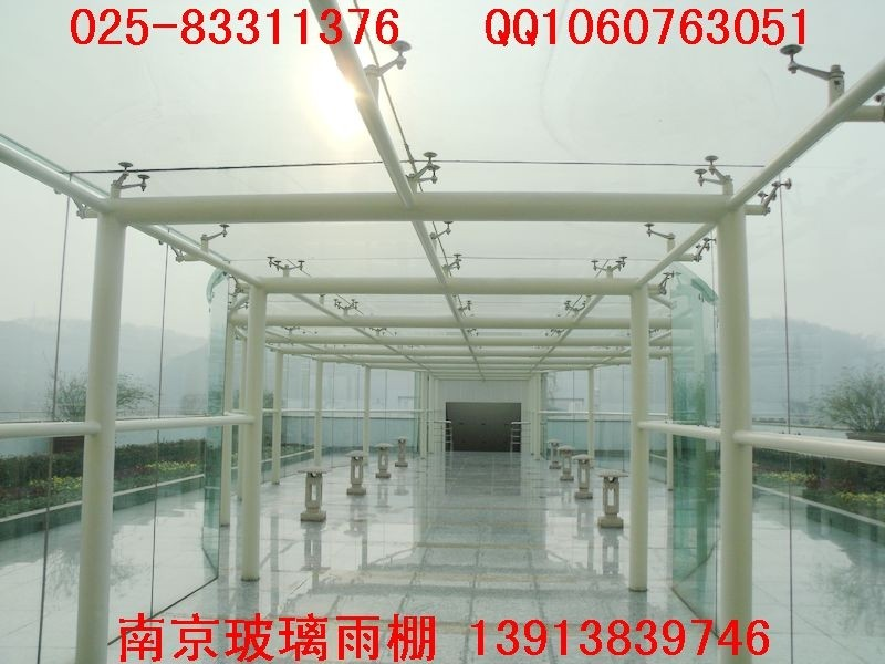 南京坡道雨棚,车库入口雨棚
